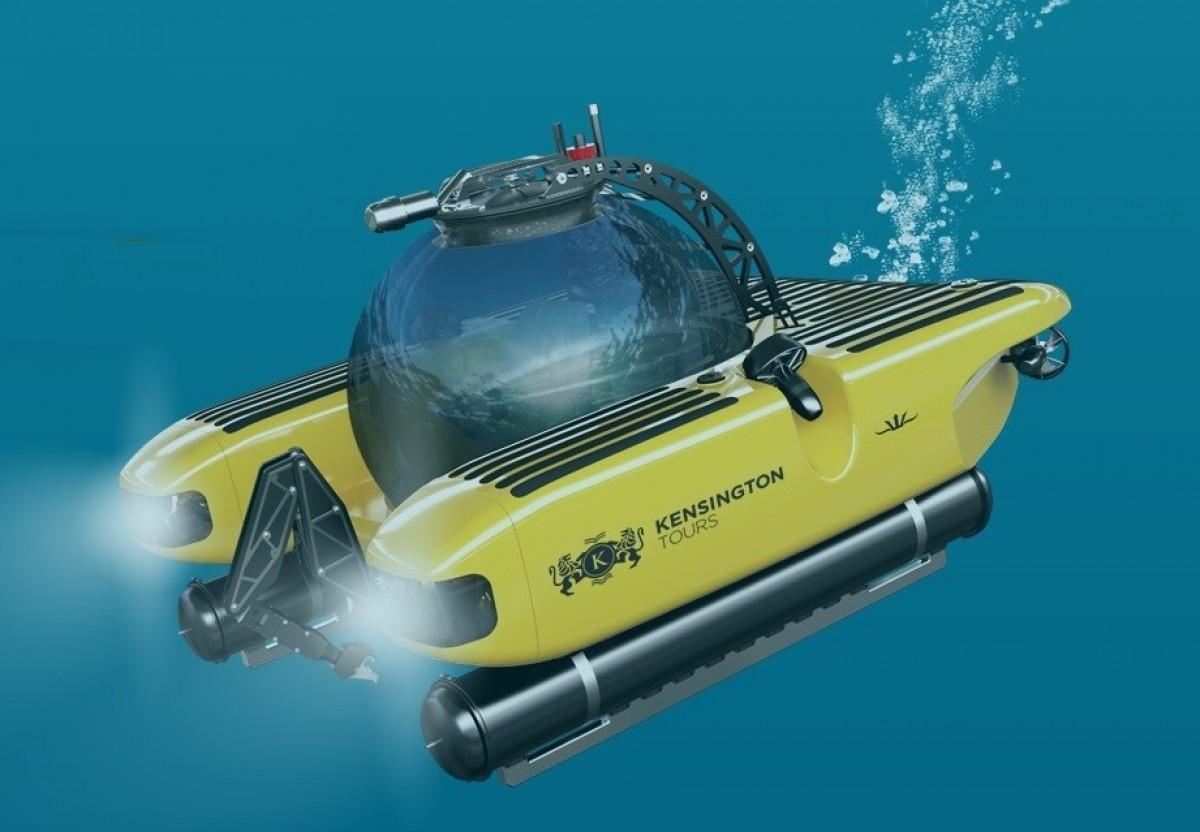 Kensington Tours launches ultra-luxurious trip to the ocean depths