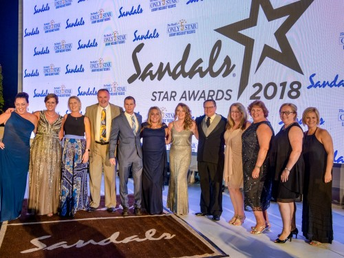 Canadian agents shine at Sandals' 17th annual S.T.A.R Awards