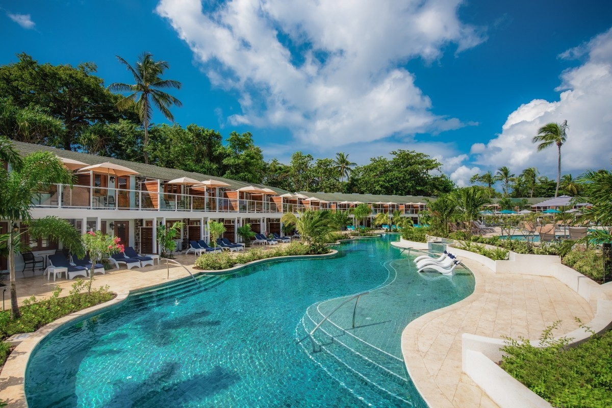 Multiple Sandals Halcyon rooms terminated for two new luxury swim-up categories