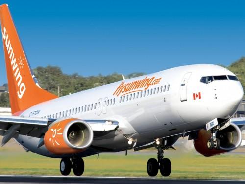 Sunwing celebrates four new flights