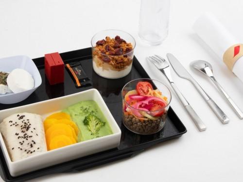 Air France just got a new healthy à la carte menu