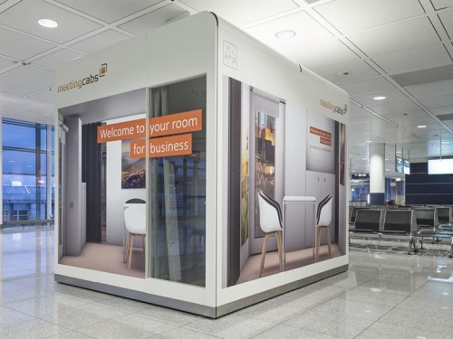Munich Airport now has a special meeting room for business travellers