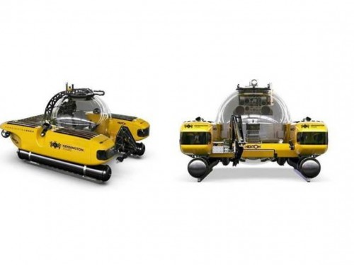 First look: the yellow submersible that will take you to unchartered depths
