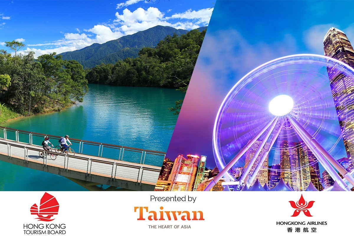 Win a grand prize trip for two to Hong Kong and Taiwan!