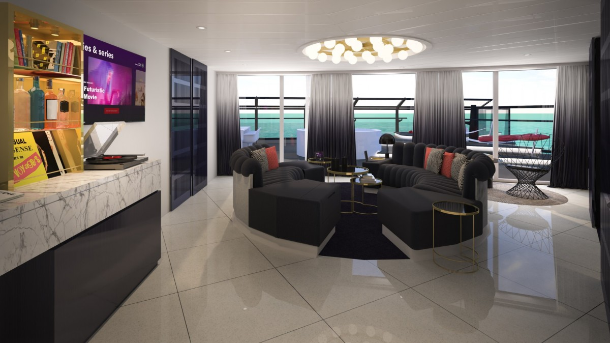 SNEAK PEEK: VIP Rockstar Suites aboard Virgin Voyages