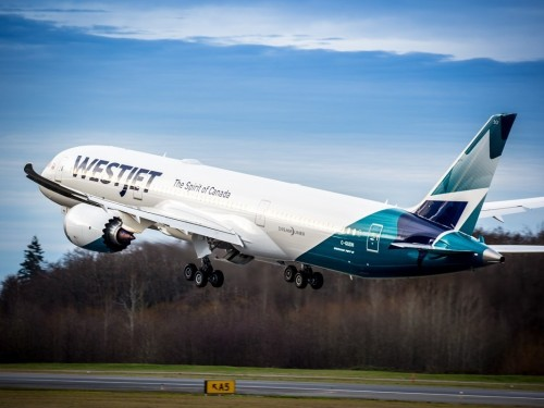 WestJet's first Boeing 787 Dreamliner has arrived