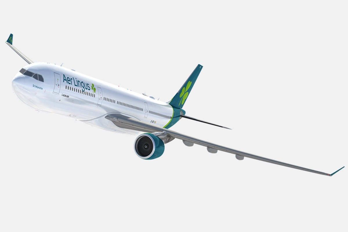 Aer Lingus shows off new livery for 2019