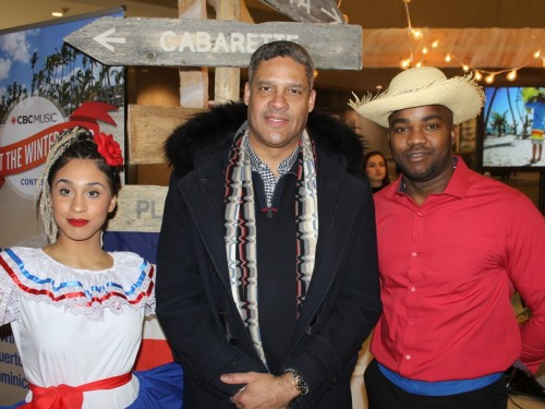 The Dominican brought heat & happiness on Toronto's coldest, saddest day