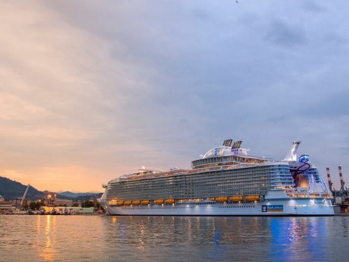 Royal Caribbean bans man for life after he jumps ship...for fun