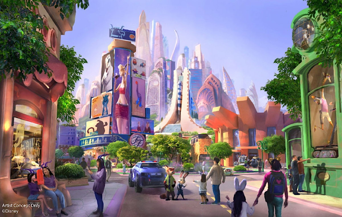 A Zootopia-themed land is coming to Disneyland...in Shanghai