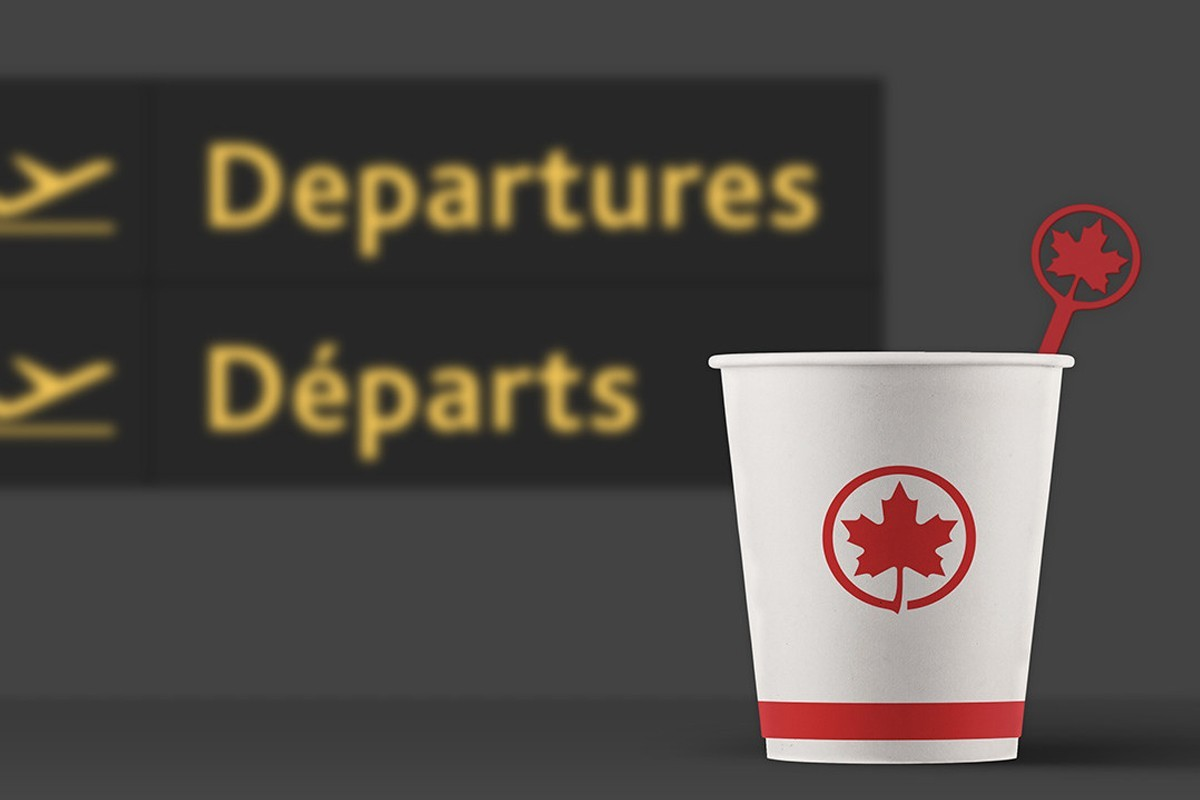 Air Canada getting rid of single-use plastic this summer