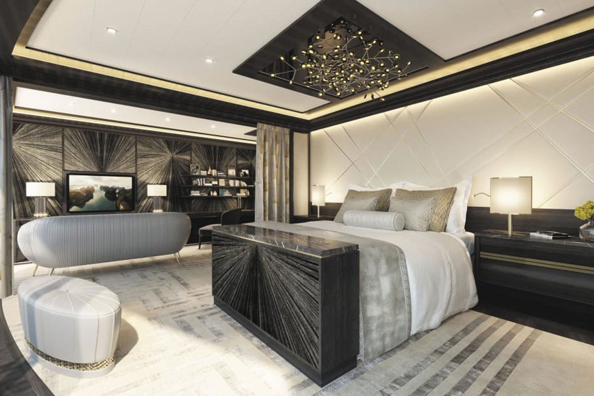 PHOTOS: A look inside the cruise suite that has a $200,000 bed