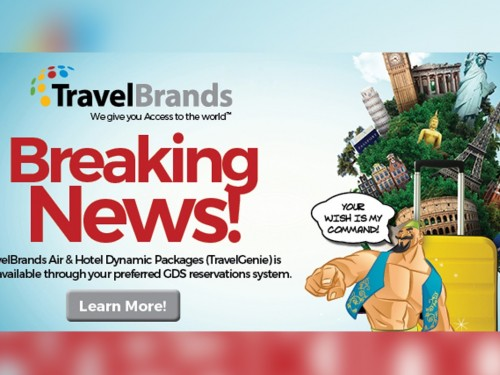 TravelBrands now offering customizable air & hotel packages