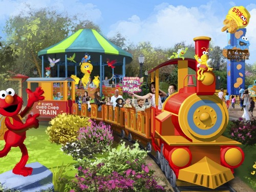 You'll be able to get to Sesame Street at SeaWorld Orlando this month
