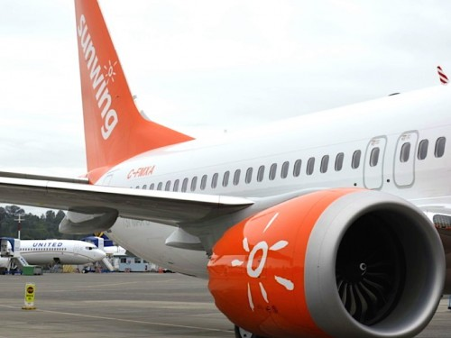 Sunwing temporarily suspends operations of Boeing 737 MAX 8