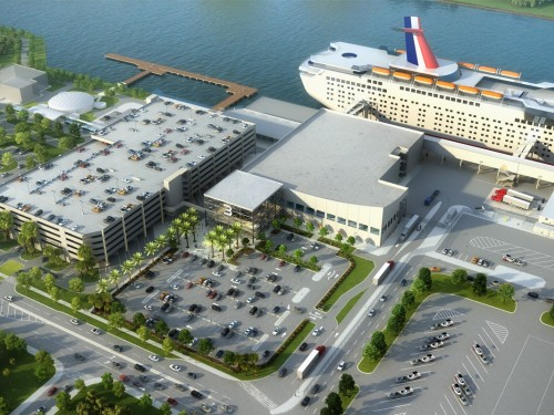 Canaveral & Carnival break ground on Cruise Terminal 3 complex