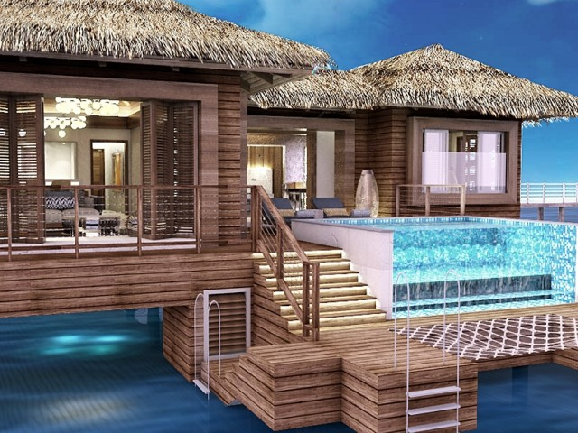 PHOTOS: New Royalton Antigua features exclusive overwater bungalows
