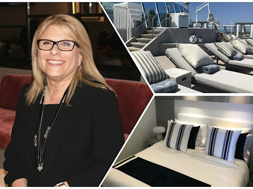 PHOTOS: What's new on Celebrity Summit? We asked Celebrity Cruises' President & CEO Lisa Lutoff-Perlo