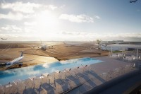 JFK's only airport hotel features an awesome rooftop pool