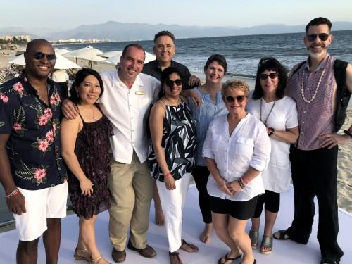 PAX On Location: WestJet Vacations, AMResorts host agents at Reflect Krystal Grand Nuevo Vallarta