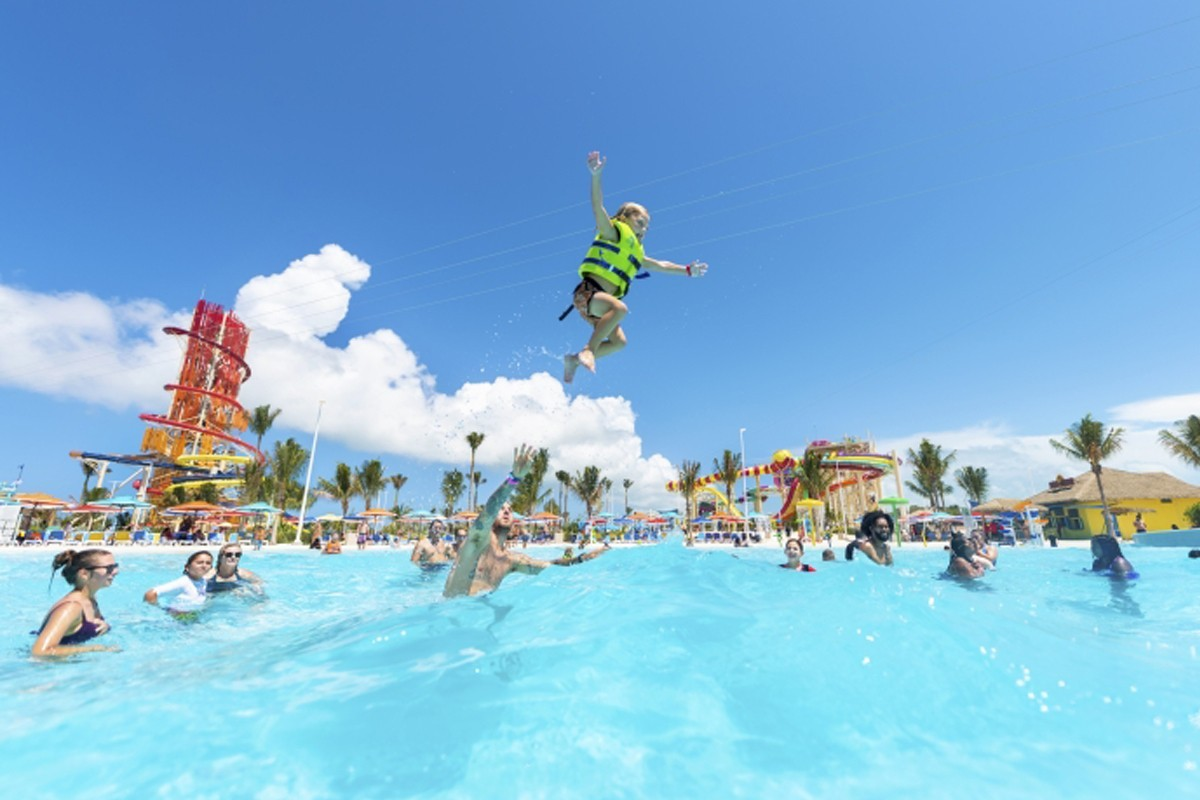 VIDEO: Royal Caribbean's private island in the Bahamas now open