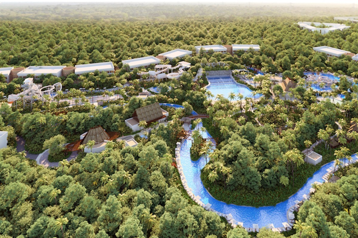 A new luxury waterpark opens in Riviera Maya this June