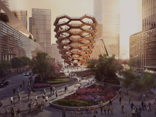 Equinox Hotel opening in NYC's Hudson Yards