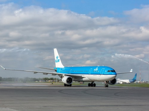KLM celebrates 70 years in Canada