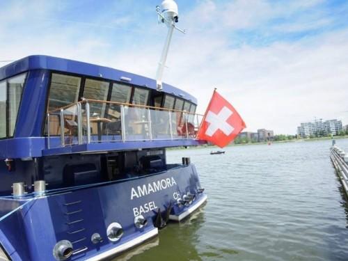 AmaWaterways launches third ship, AmaMora