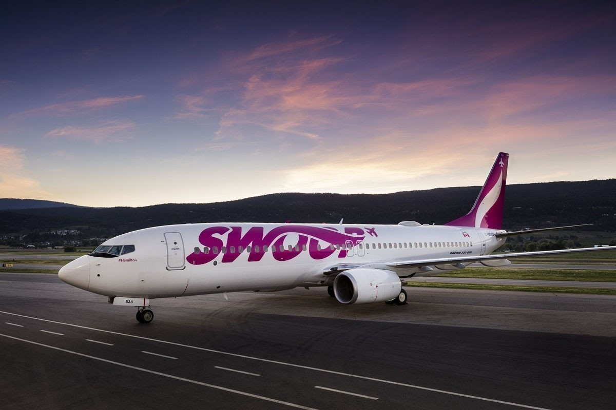 Swoop cancels 23 flights due to unscheduled maintenance issue