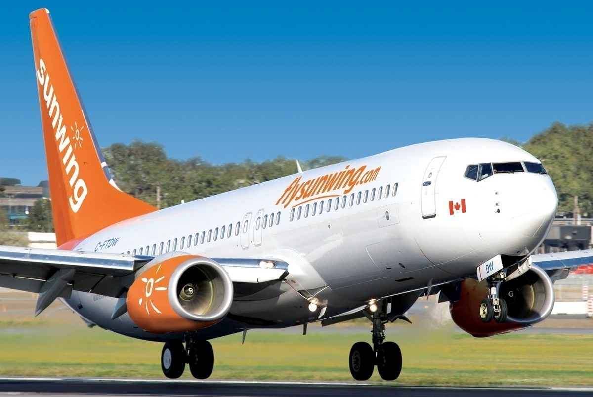 Sunwing adds 6 flights from Hamilton this winter