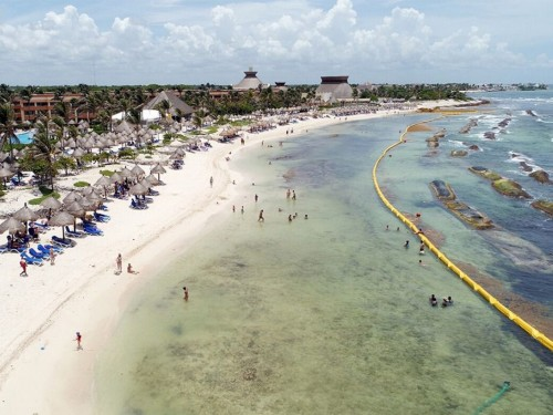 How Bahia Principe is successfully tackling sargassum in the south