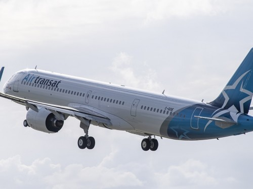 Transat forced to turn plane around after fire on board