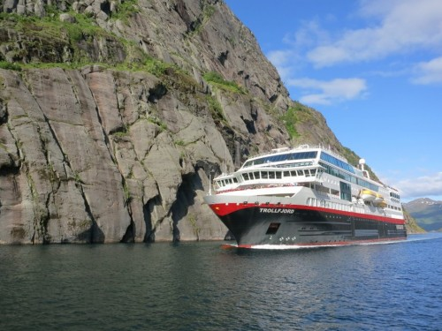 Three Hurtigruten ships to be renamed following hybrid makeovers