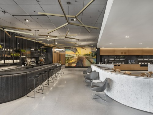 Air Canada opens cafe at Toronto Pearson