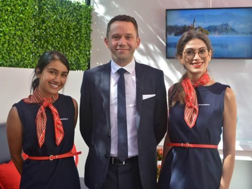 Ooh là là! Air France has a trendy lounge you can visit at TIFF