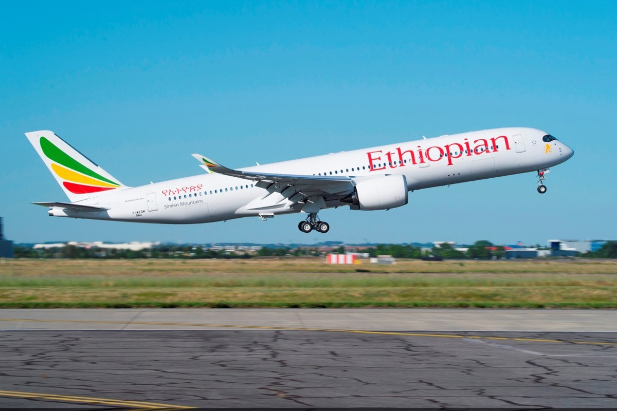 Ethiopian Airlines rolls out Wi-Fi aboard A350 fleet