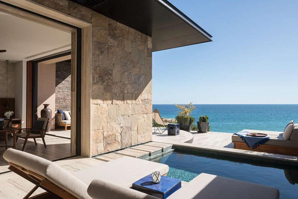A new luxury beachfront property is opening in Los Cabos