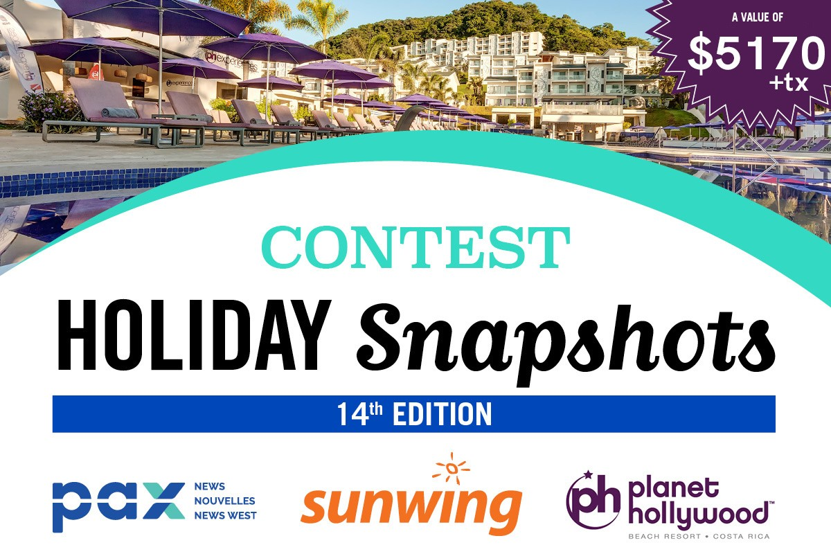 The PAX - Sunwing Snapshot Contest is back