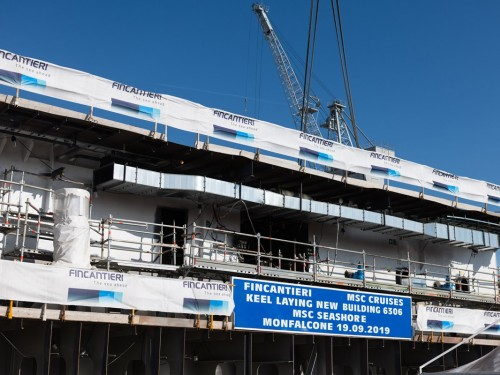 MSC Cruises prepares to welcome its longest-ever ship