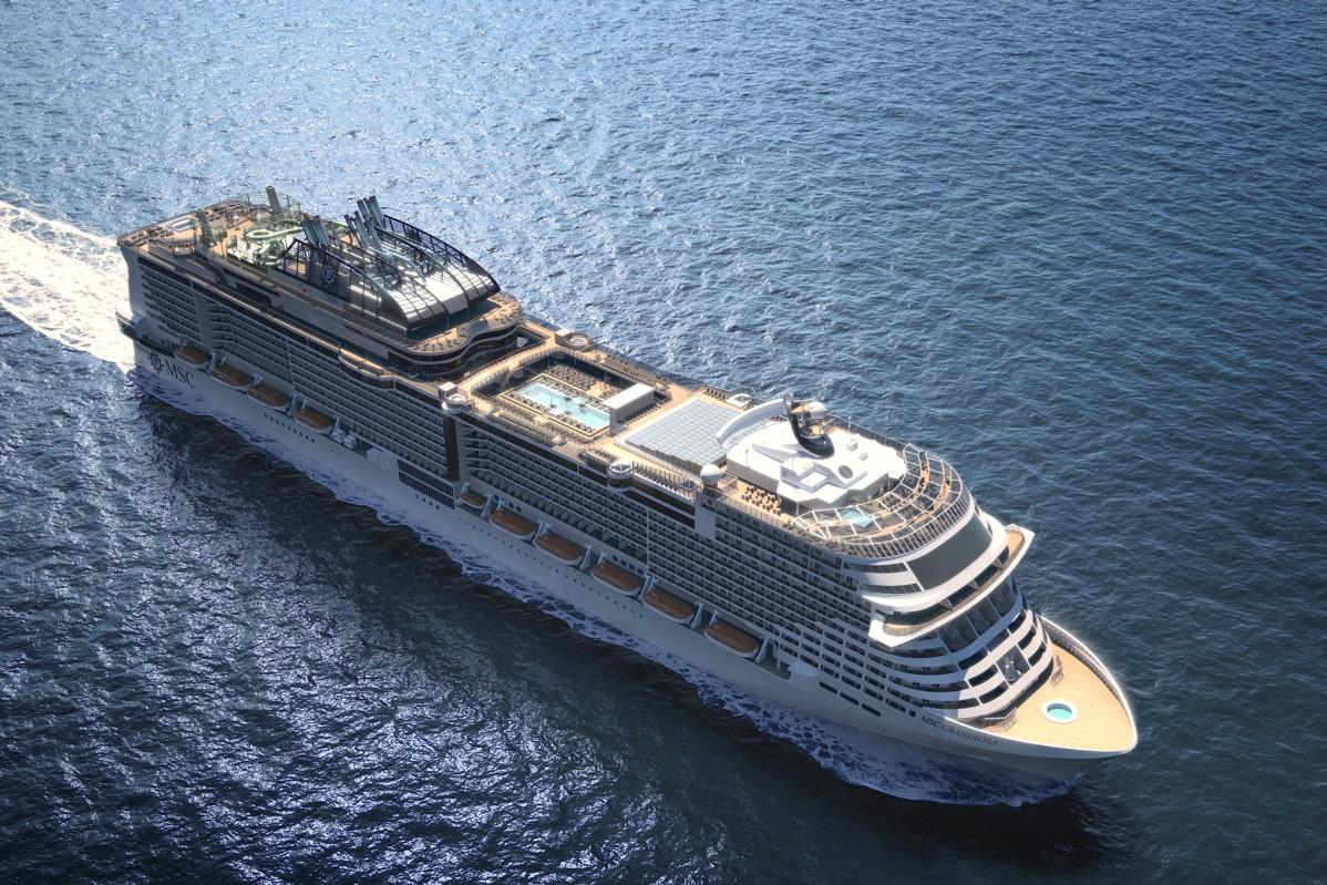 PAX - Cleaner cruising: MSC Grandiosa to debut major eco ...