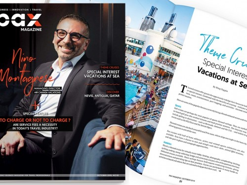 ACV's Nino Montagnese featured in PAX magazine's October issue