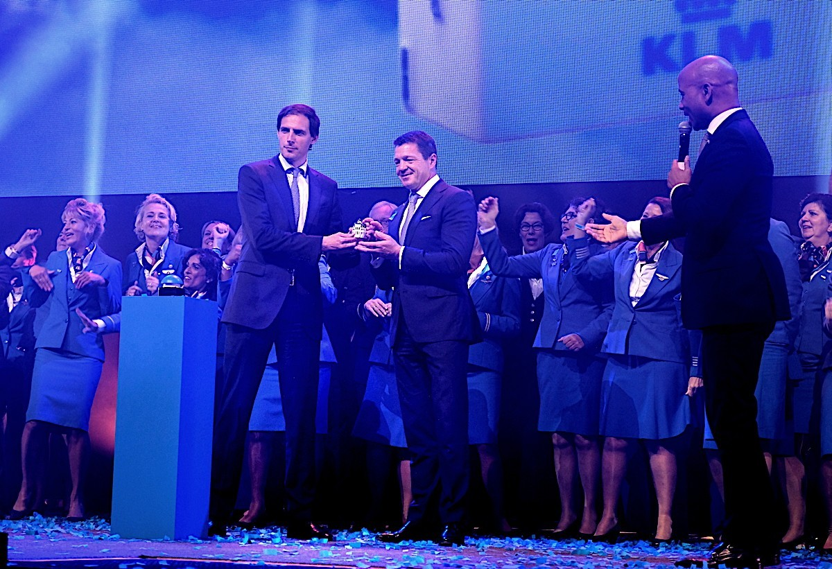 PAX On Location: Celebration & plane innovation takes centre stage at KLM's 100th