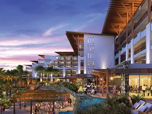 Unexpected construction delays Now Natura Riviera Cancun's debut