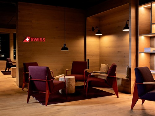 SWISS opens new lounge in Zurich Airport