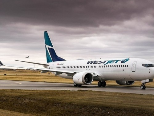 WestJet's MAX 8 fleet to remain grounded through February