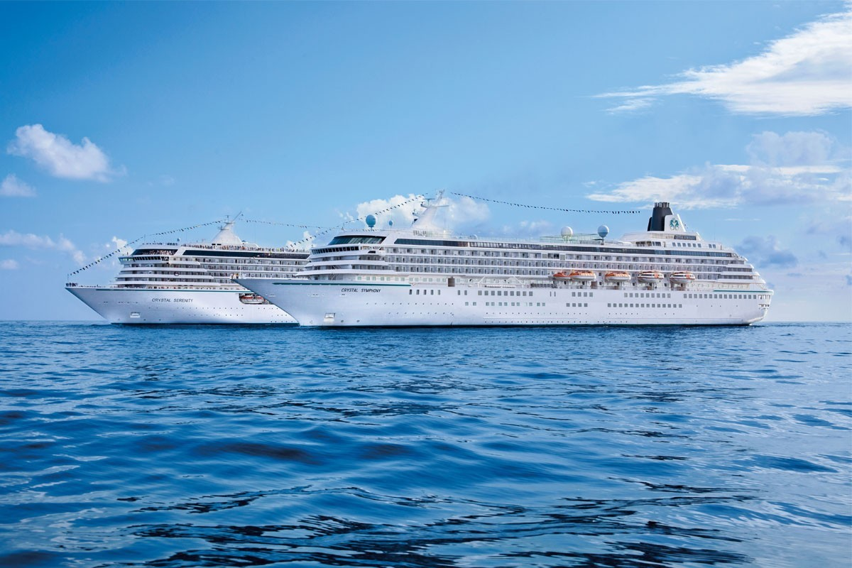 Crystal Cruises adds 10 new voyages to Crystal Getaways collection