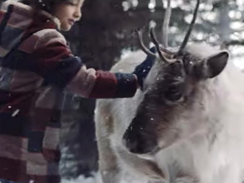 "VIDEO: Air Canada celebrates holiday magic with the ""Lost Reindeer"""