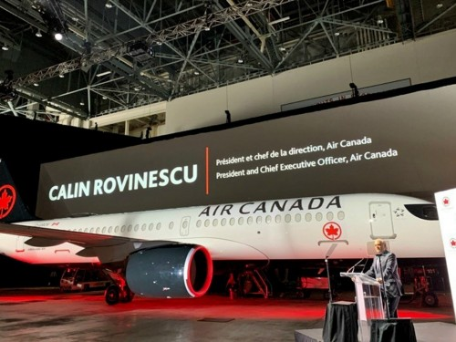 Air Canada takes delivery of first A220-300