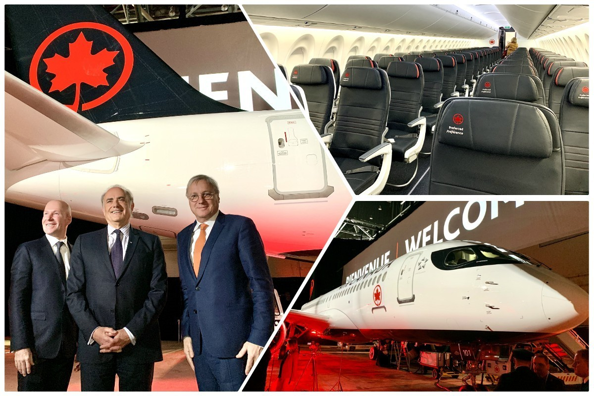 """""""A major enabler for us:"""" Delivery of A220 aircraft represents a """"new chapter"""" for Air Canada"""